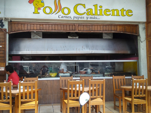 Pollo Caliente Plaza Navegantes